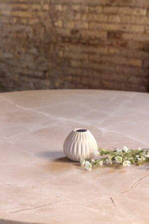 Portacepillos de cerámica blanco 10 x 10 x 9 cm