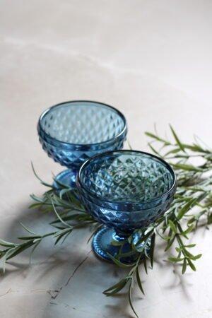 Copa Helado Diamant Azul 12 x 12 x10,5 cm
