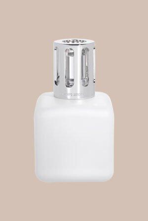 Lámpara cúbica cristal satinada x1 recarga Délicat Musc Blanc 4564