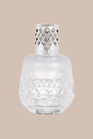 Lámpara redonda geométrica blanca 4708