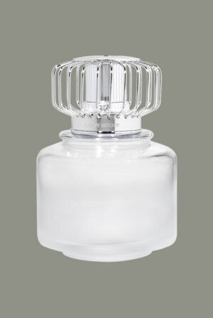Lámpara cilíndrica cristal blanco escarchado 4731